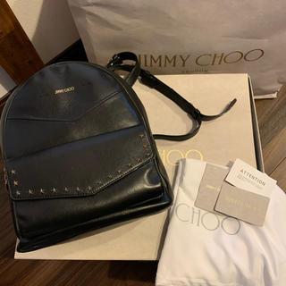 JIMMY CHOO - ジミーチュウ 美品 バックパック リュック   スタッズ 正規品