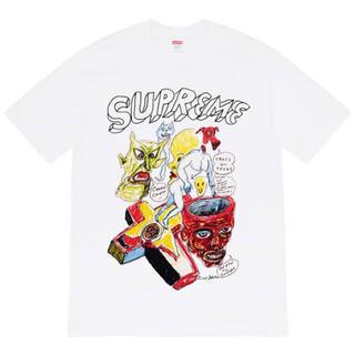 シュプリーム(Supreme)のSupreme Daniel Johnston tee 2020(Tシャツ/カットソー(半袖/袖なし))