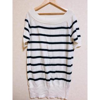 エムズエキサイト(EMSEXCITE)の半袖ニット(Tシャツ(半袖/袖なし))