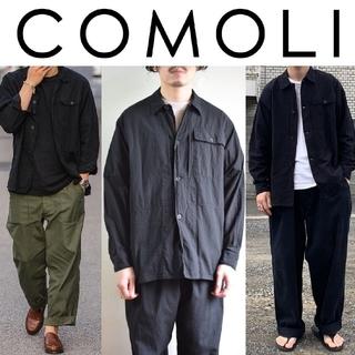 COMOLI - 新品 2 黒 COMOLI ベタシャン ユーティリティジャケット