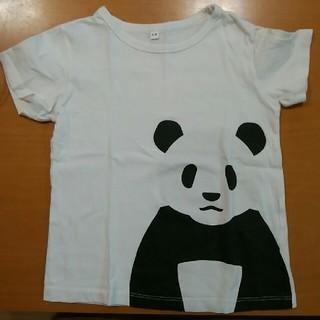 MUJI (無印良品) - 無印良品 キッズTシャツ パンダ サイズ110
