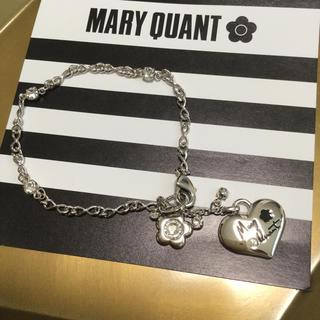 MARY QUANT - マリークワント ハート型シルバーチャーム【新品未使用】