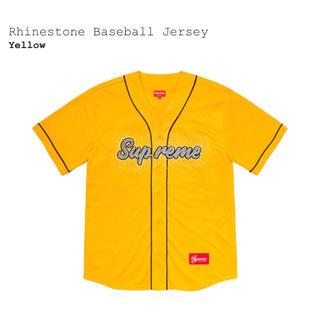 シュプリーム(Supreme)のS supreme rhinestone baseball jersey(その他)