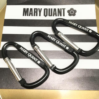 MARY QUANT - マリークワント  カラビナ 3個セット【新品未使用】