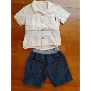 コンビミニ(Combi mini)のコンビミニ  シャツ パンツ 90cm(Tシャツ/カットソー)