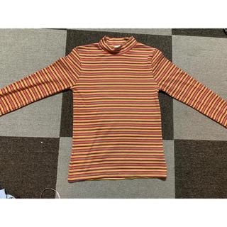 ジーユー(GU)のGU ハイネックTシャツ(Tシャツ(長袖/七分))