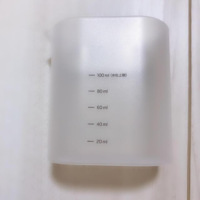 MUJI (無印良品)(ムジルシリョウヒン)の無印良品 計量カップ スマホ/家電/カメラの生活家電(加湿器/除湿機)の商品写真