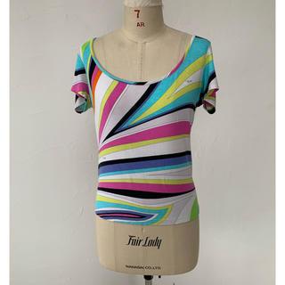 エミリオプッチ(EMILIO PUCCI)のエミリオプッチ Tシャツ カットソー マーブル(Tシャツ(半袖/袖なし))