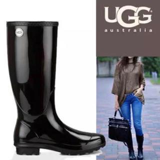 アグ(UGG)の新品未使用 UGG レインブーツ 長靴(レインブーツ/長靴)