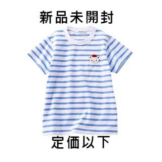 familiar - 新品定価以下ファミリア☆70周年限定ファミちゃん刺繍ボーダーTシャツ☆Sサイズ