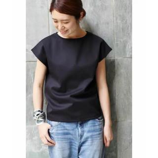 IENA - IENA C/NY フレンチスリーブTシャツ