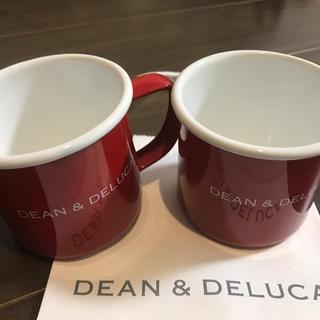 ディーンアンドデルーカ(DEAN & DELUCA)のDEAN&DELUCA ホーローマグカップ(グラス/カップ)