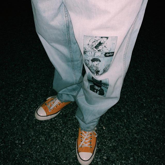 Supreme(シュプリーム)のAKIRA カスタムデニム メンズのパンツ(デニム/ジーンズ)の商品写真