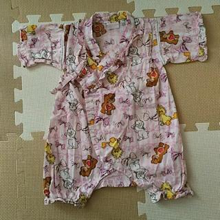 70~80cm  スージーズー フリル甚平 (甚平/浴衣)