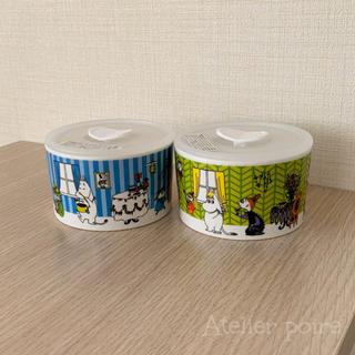 ☆2個セット☆ 高気密レンジ容器*MOOMIN(容器)