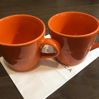ディーンアンドデルーカ(DEAN & DELUCA)のDEAN&DELUCA限定マグカップ2個セット(グラス/カップ)