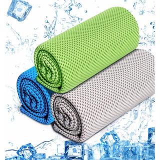 スポーツタオル 速乾タオル 3枚セット 熱中症対策/猛暑対策 抗菌/防臭 超吸水(タオル/バス用品)