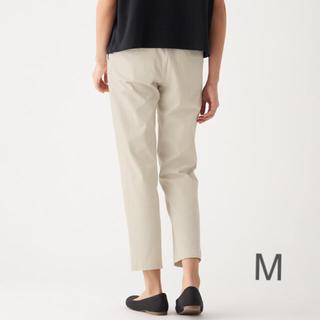 ムジルシリョウヒン(MUJI (無印良品))の無印良品   縦横ストレッチチノイージーボーイフィットパンツ M・アイボリー (チノパン)
