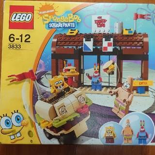 レゴ(Lego)のレゴ スポンジボブ 3833 カーニバーガー LEGO(キャラクターグッズ)