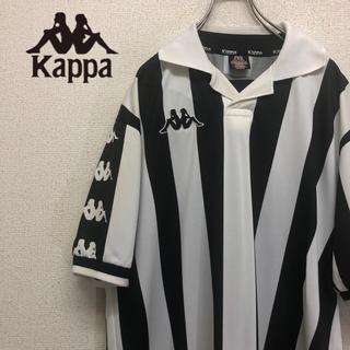 カッパ(Kappa)のKappa カッパ  ゲームシャツ  刺繍ロゴ ストライプ 90s 古着(シャツ)