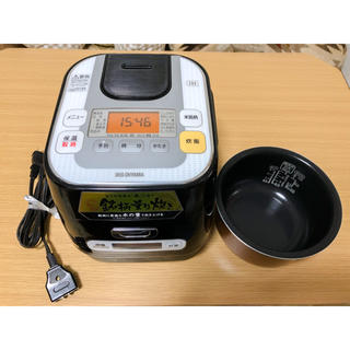アイリスオーヤマ(アイリスオーヤマ)のアイリスオーヤマ ☆ 炊飯器 ☆ IRIS RC-IA30-B【ジャンク品】(炊飯器)