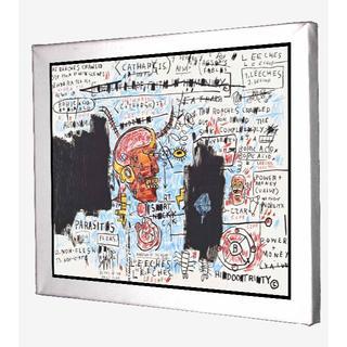 75-ジャン=ミシェル・バスキア Basquiat キャンバスアート 模写(ボードキャンバス)