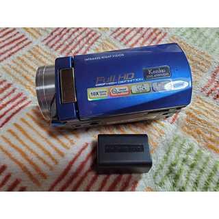 Kenko フルハイビジョンビデオカメラ DVS A10FHDIR (ビデオカメラ)