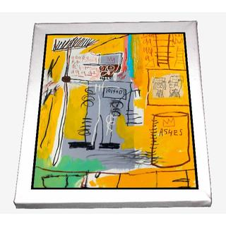 77-ジャン=ミシェル・バスキア Basquiat キャンバスアート 模写(ボードキャンバス)