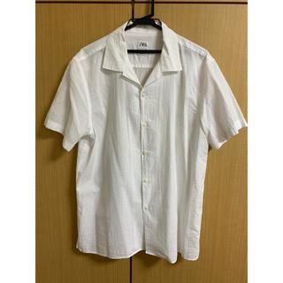 ZARA - ZARA オープンカラーシャツ