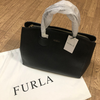 Furla - FURLA ALBA M TOTE 黒