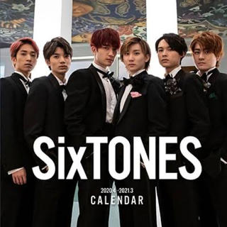 ジャニーズ(Johnny's)のSixTONES カレンダー(アイドルグッズ)