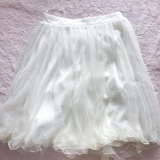 エムズエキサイト(EMSEXCITE)のチュールスカート (ひざ丈スカート)
