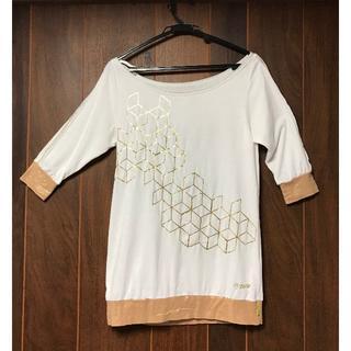ズンバ(Zumba)の【正規品】ZUMBA®︎ 7丈白のTシャツ (ダンス/バレエ)