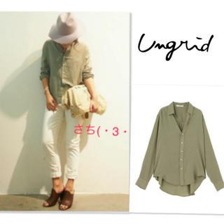 Ungrid - Ungrid♡テンセルローンシャツ