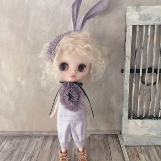pippi.phoo ミディブライスアウトフィット ウサ耳ロンパ3 (人形)