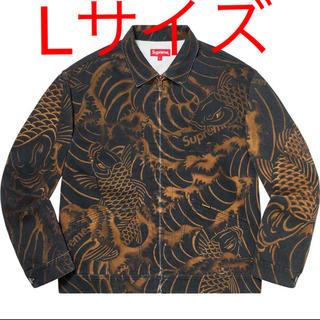 Supreme - Supreme Waves Work Jacket Black シュプリーム