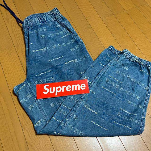 Supreme(シュプリーム)のSupreme Dimensions Logo Denim Skate Pant メンズのパンツ(デニム/ジーンズ)の商品写真