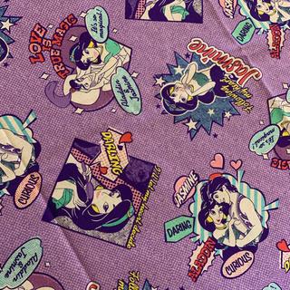 ディズニー(Disney)のアラジン ジャスミン アメリカ生地 生地520(生地/糸)