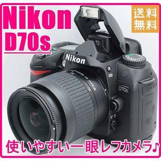 ニコン(Nikon)のNikon ニコン D70s NIKKOR 28-80mmレンズセット♪(デジタル一眼)