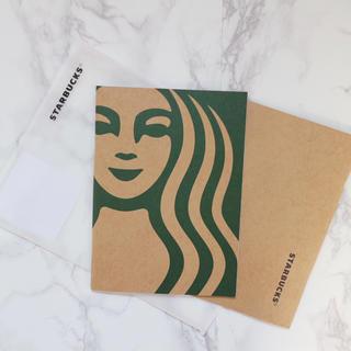 Starbucks Coffee - 【新品】新作 台湾スターバックス ノート 2冊セット サイレン 女神様