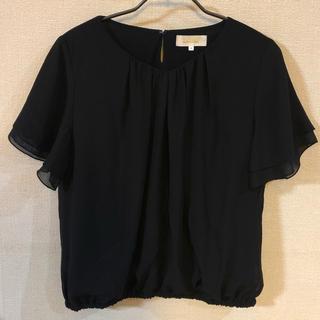 アルファキュービック(ALPHA CUBIC)のALPHA CUBIC シフォンプルオーバー(カットソー(半袖/袖なし))