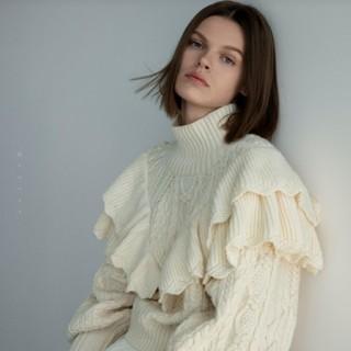 ザラ(ZARA)のZARA◆2019/大人気◆リブ編みボリュームニットセーター◆完売品◆(ニット/セーター)