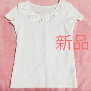 CECIL McBEE - 売りつくし限定タイムセール デザインTシャツ半袖ホワイト白