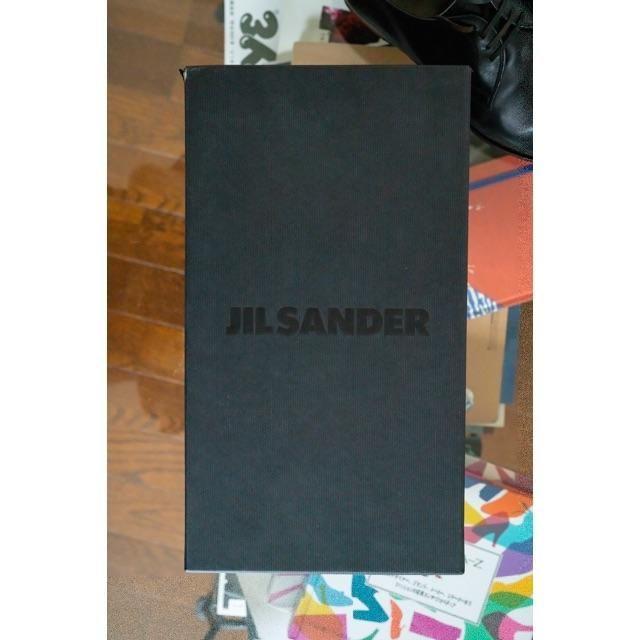 Church's(チャーチ)の【希少】JILSANDER × church's コラボ 革靴 ブラック メンズの靴/シューズ(ドレス/ビジネス)の商品写真