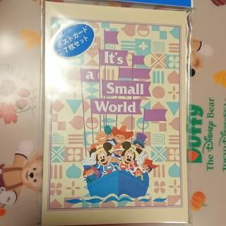 ディズニー(Disney)のディズニー スモールワールド ポストカードセット(キャラクターグッズ)
