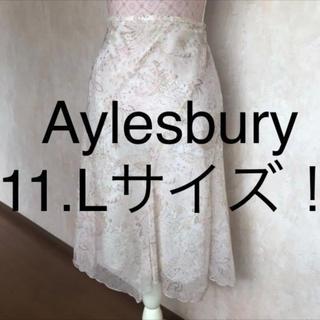 アリスバーリー(Aylesbury)の☆Aylesbury/アリスバーリー☆大きいサイズ!フレアスカート11(L)(ひざ丈スカート)