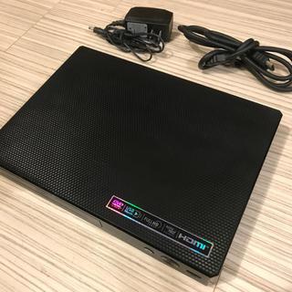エルジーエレクトロニクス(LG Electronics)のブルーレイプレーヤー LG BP250 +電源コード +HDMIコード(ブルーレイプレイヤー)