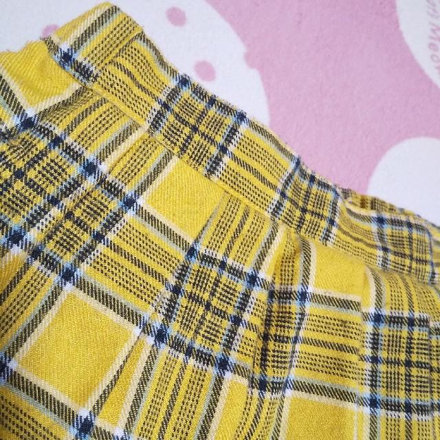 JENNI(ジェニィ)のALGY チェックスカート キッズ/ベビー/マタニティのキッズ服女の子用(90cm~)(スカート)の商品写真