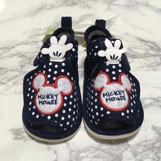 Disney - 即購入OK!新品タグ付 ディズニー ミッキー ベビー キッズ サンダル 13cm