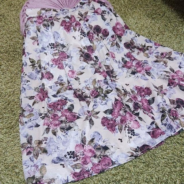 MISCH MASCH(ミッシュマッシュ)のるる様 ミッシュマッシュ 花柄フレアスカート レディースのスカート(ひざ丈スカート)の商品写真
